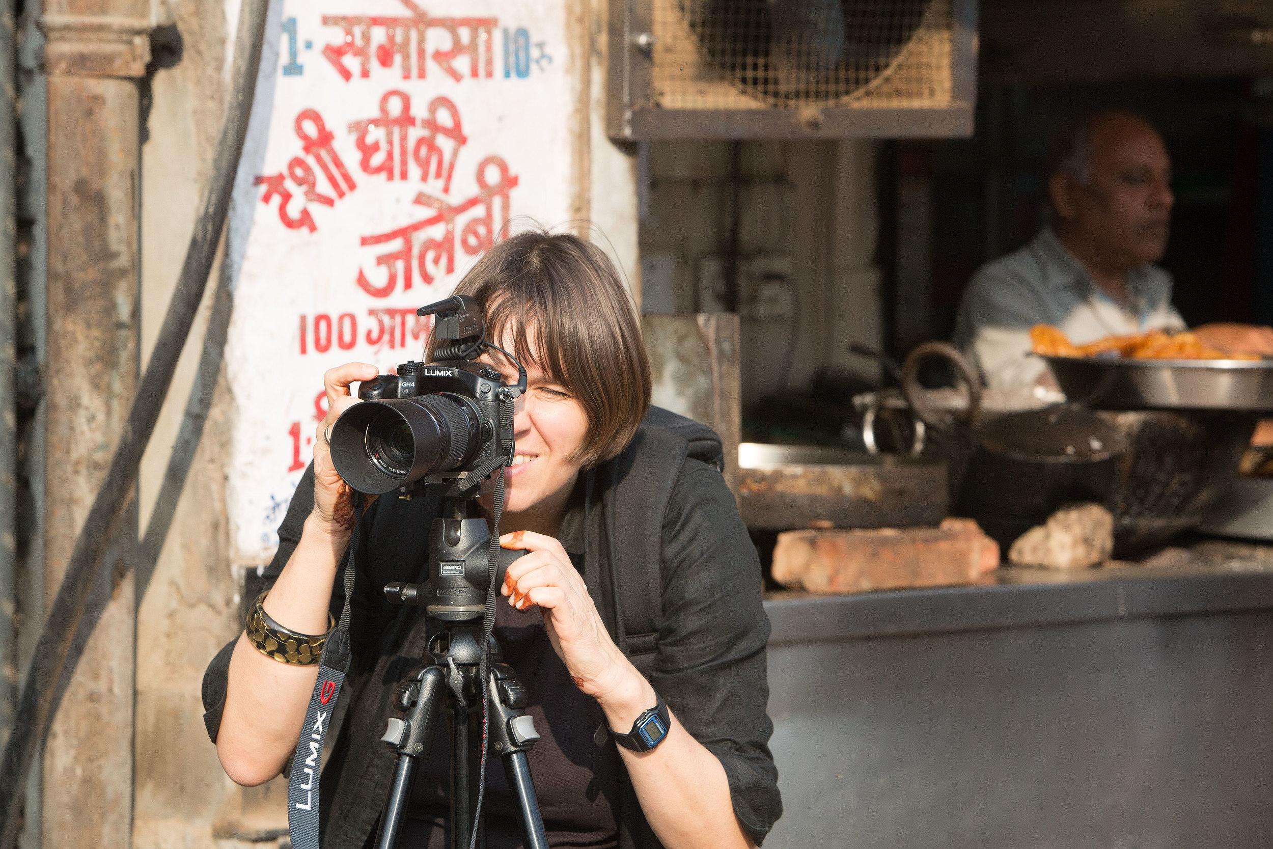 Ursula dreht in Indien in 4K. Einen Clip mit diesen Aufnahmen findest Du auf Youtube:   Hier klicken