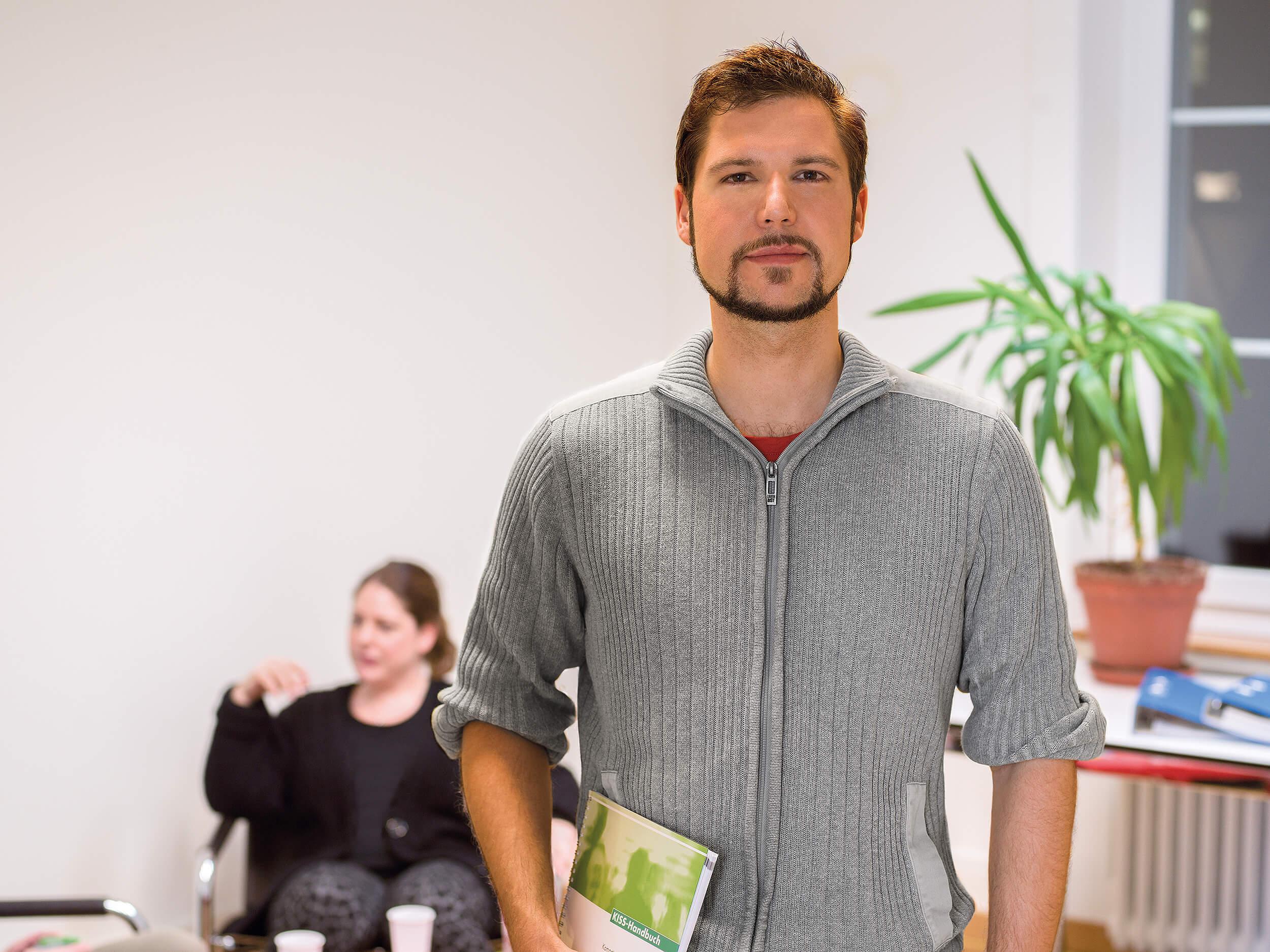 Florian Schneider, Pflegefachmann in der Psychiatrie