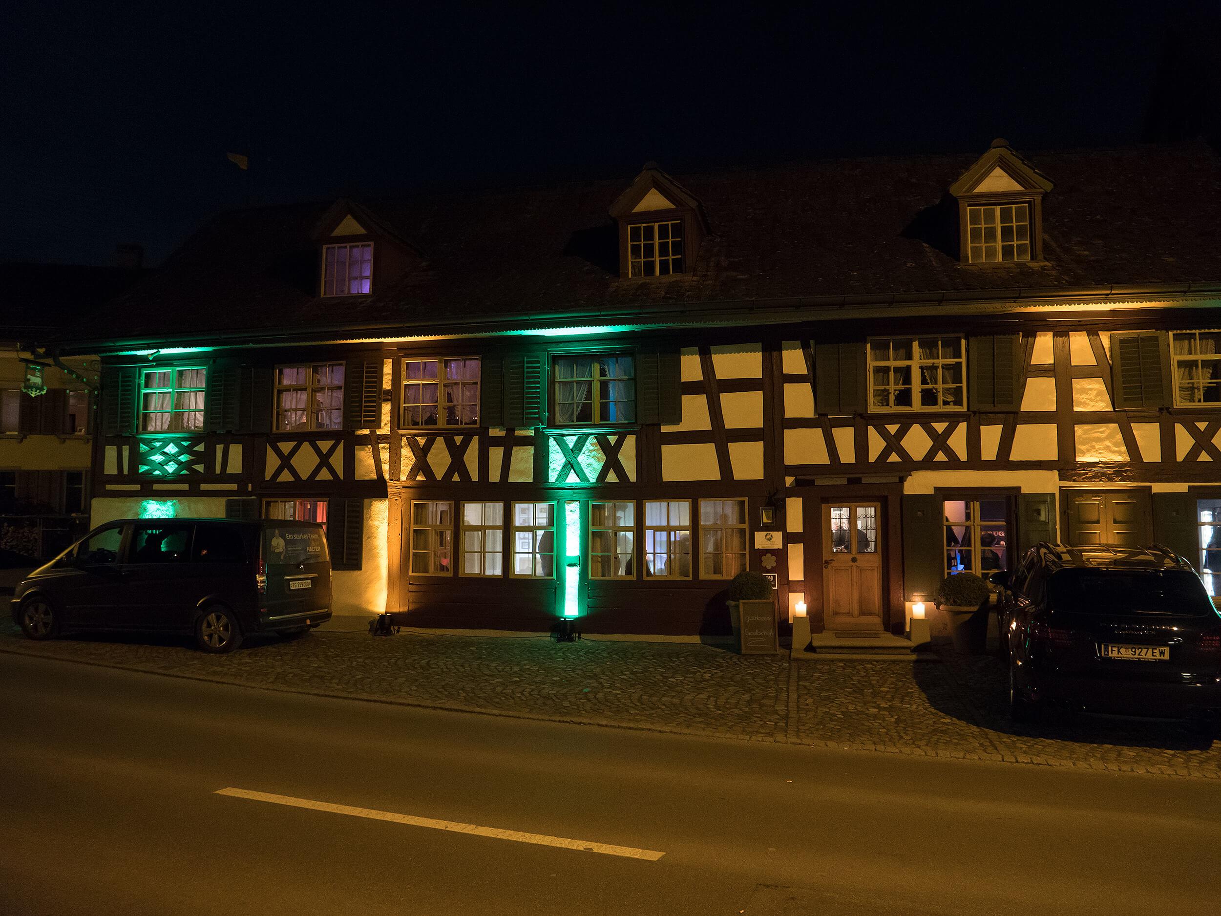 Taverne zum Schäfli, Fotograf Peter Schäublin mit Panasonic GH5
