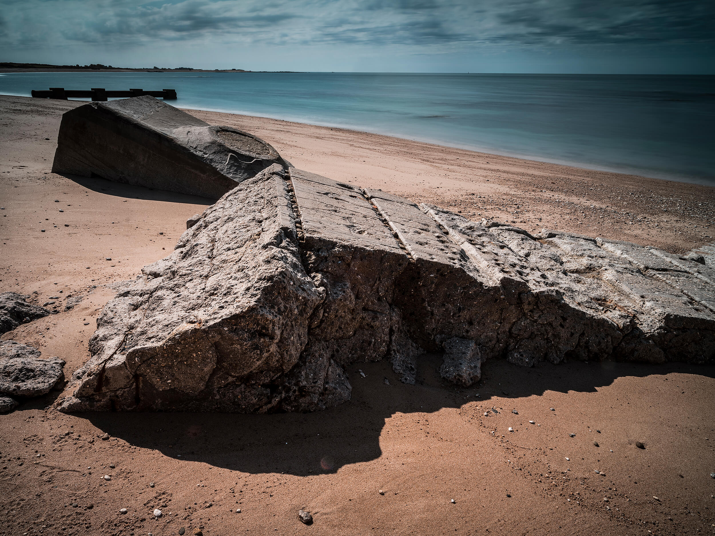Néville sur Mer, fotografiert von Peter Schäublin Fotograf Schaffhausen