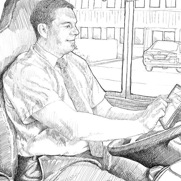 INNOTIX Buschauffeur / bus driver