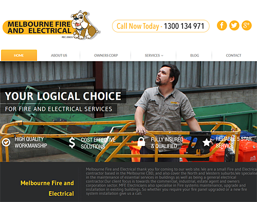 Melbourne Fire and Electrical are a full-service electrical and essential services company that caters to clients in the CBD, Inner Suburbs and North West of Melbourne.