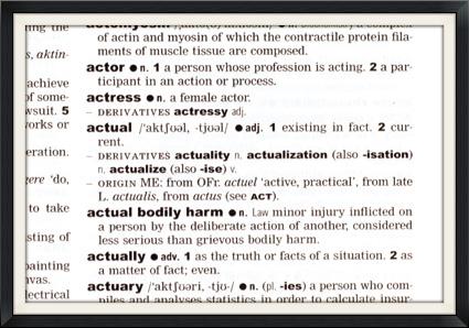dictionaryframe