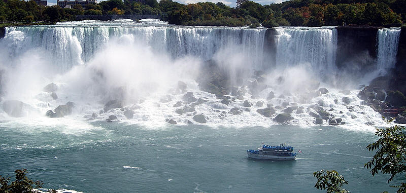 The literal Niagara Falls. Words not pictured.