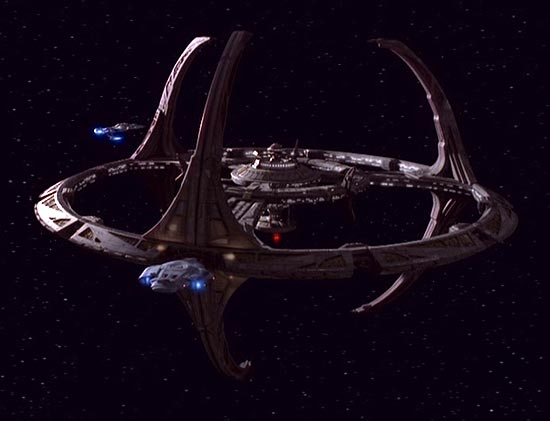 The iconic space station, Deep Space Nine.