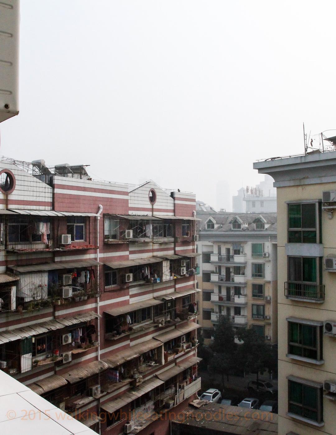 Milky Grey air from my balcony