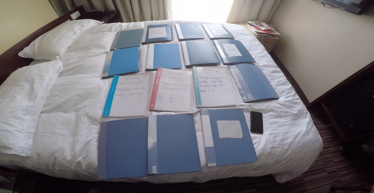 One of the most important things I did during my time in China was keep regular records of my teaching. Daily lesson plans helped me keep track of my favorite methods and understand my strengths and weaknesses.