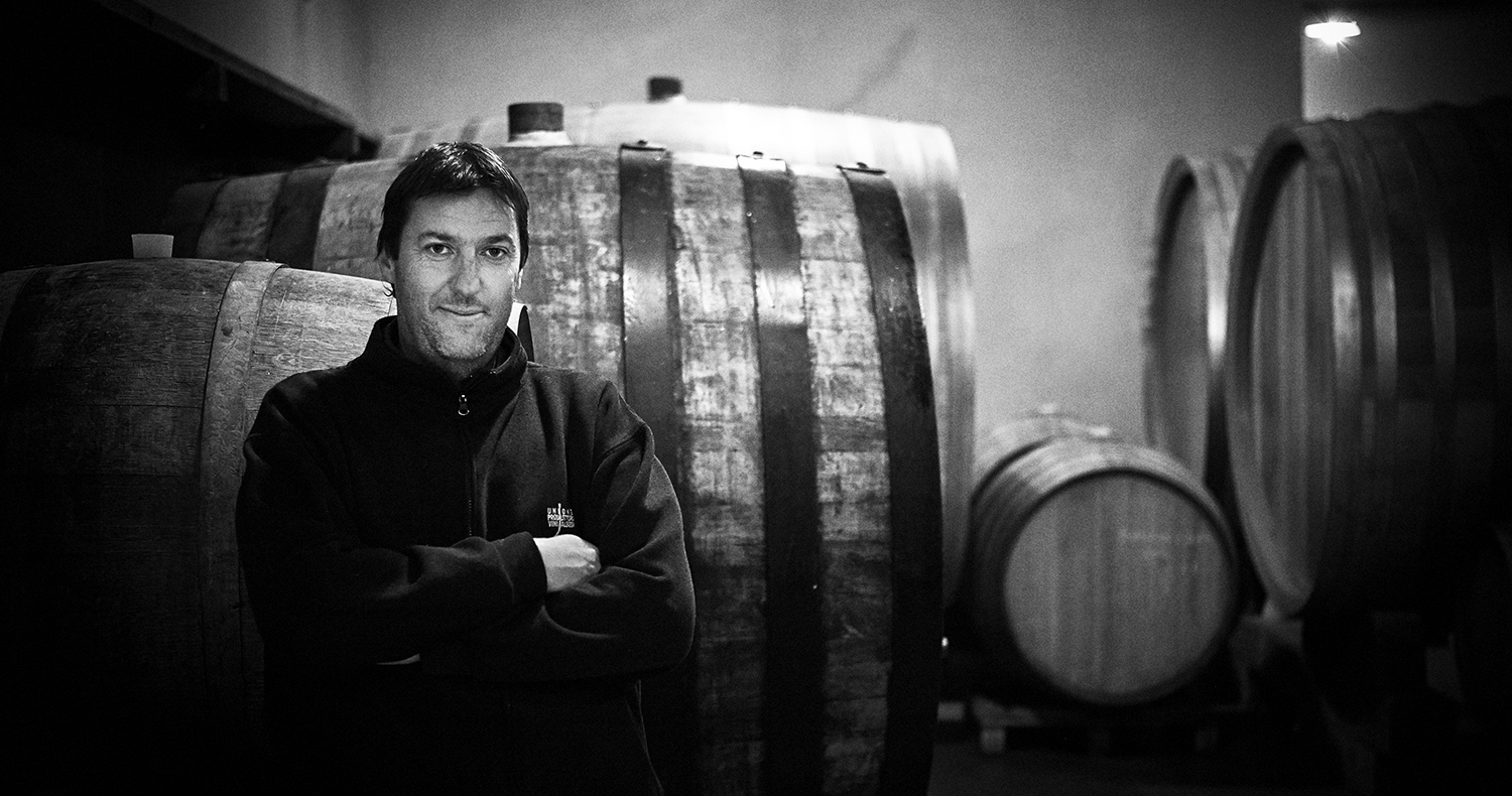 Marco Rocca, winemaker, La Ca´Növa, Barbaresco.  Photo:  Nicolas Schott