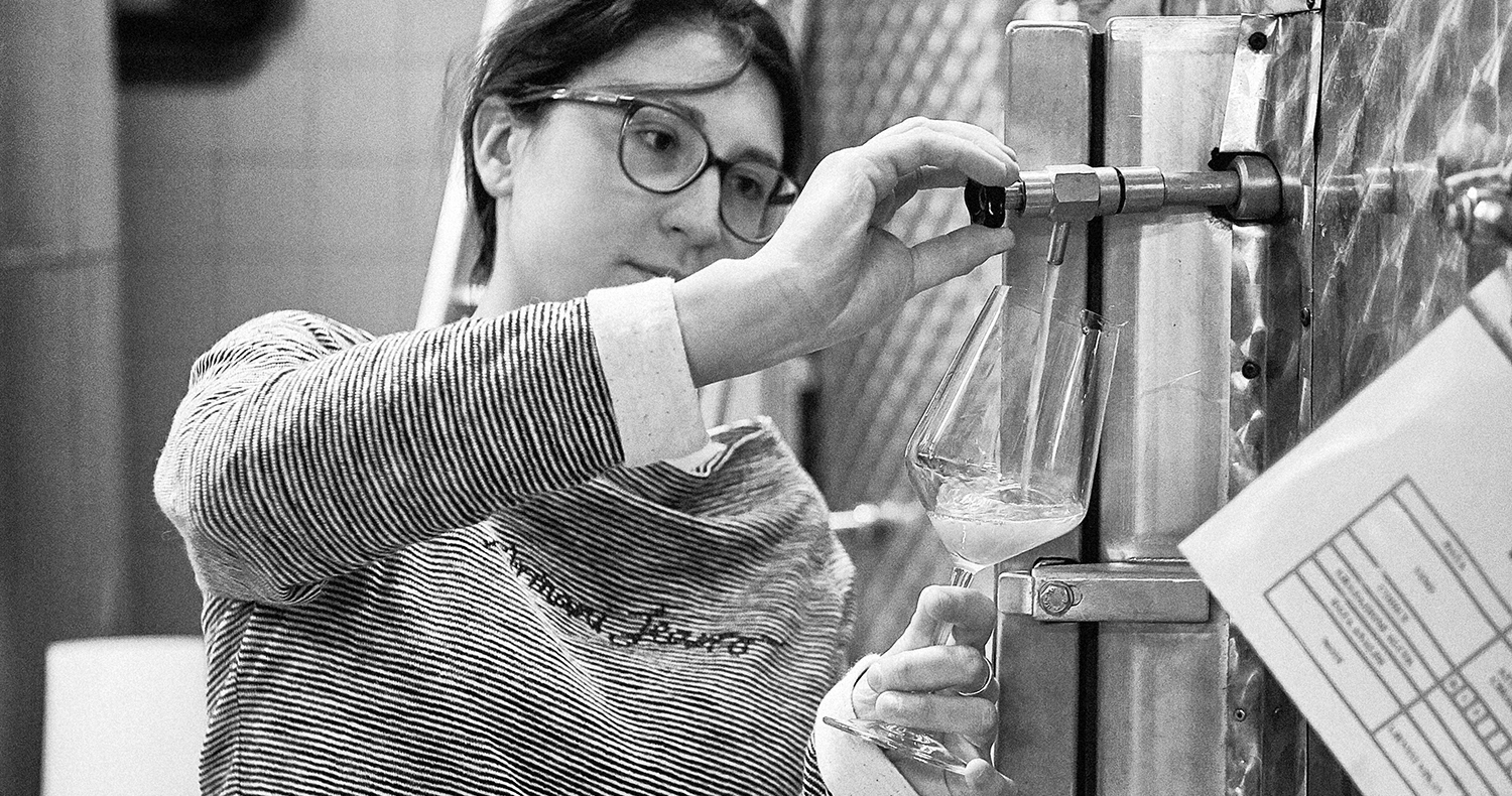 Beatrice Gaudio, winemaker  Photo:  Nicolas Schot