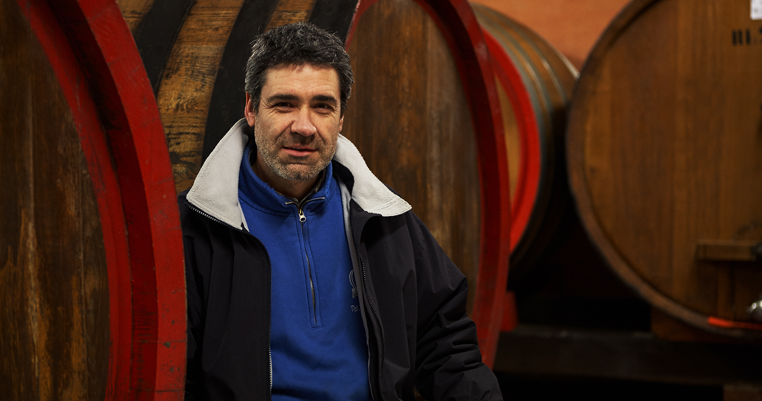 Guido Porro, Winemaker, Serraluna D'Alba Photo: Nicolas Schot