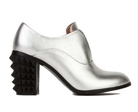 Metallic Studded Heel  (they have one in black too)