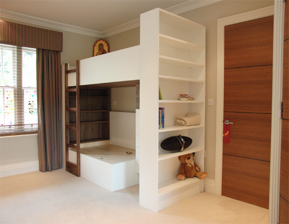 Hand made bunk bed for children