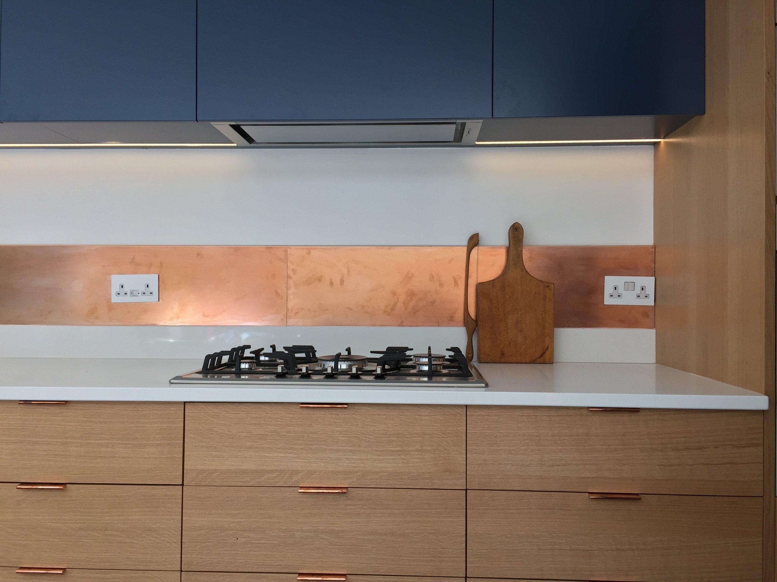Cooper Splashback kitchen