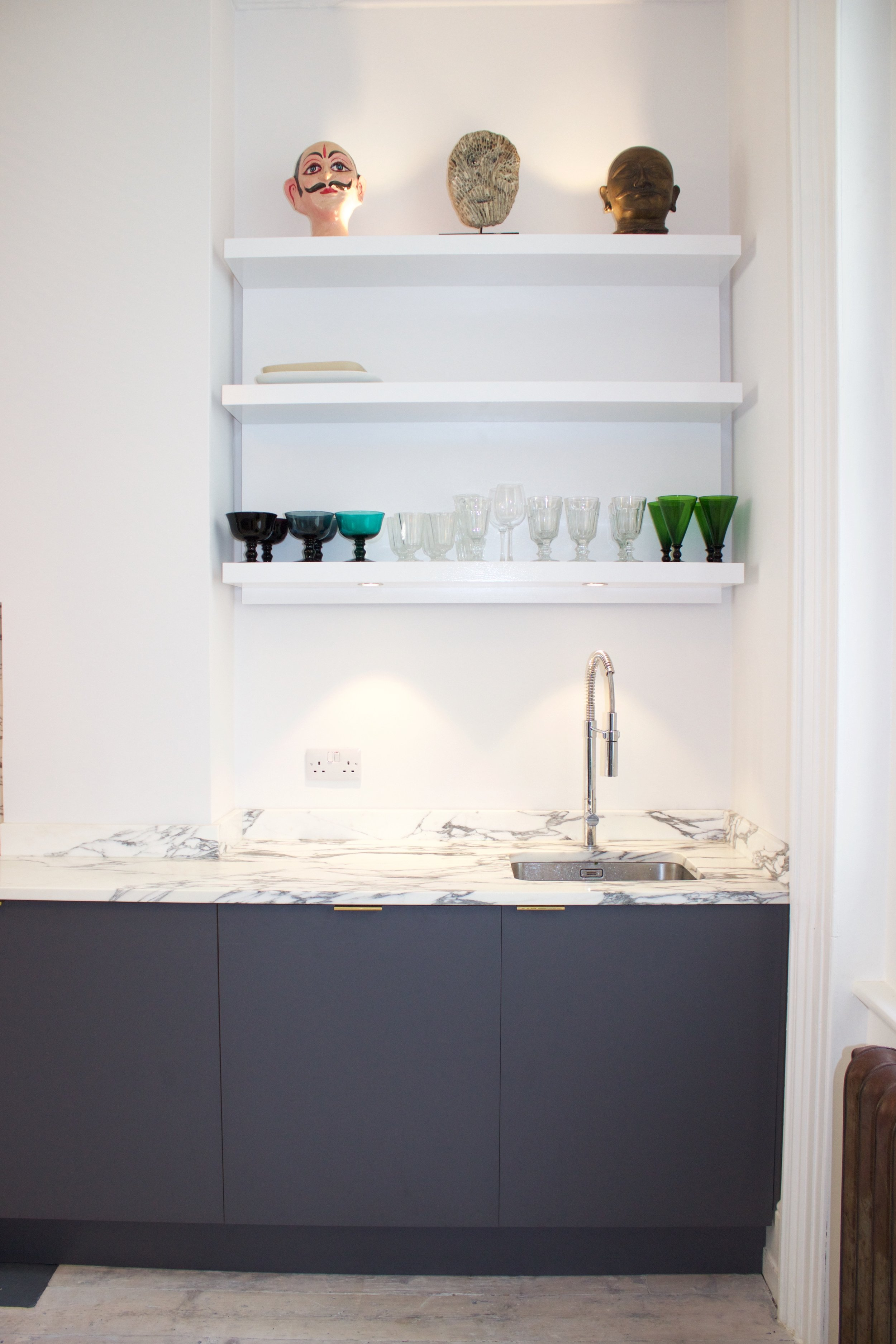 kitchen-oak-formica-marble storage shelves