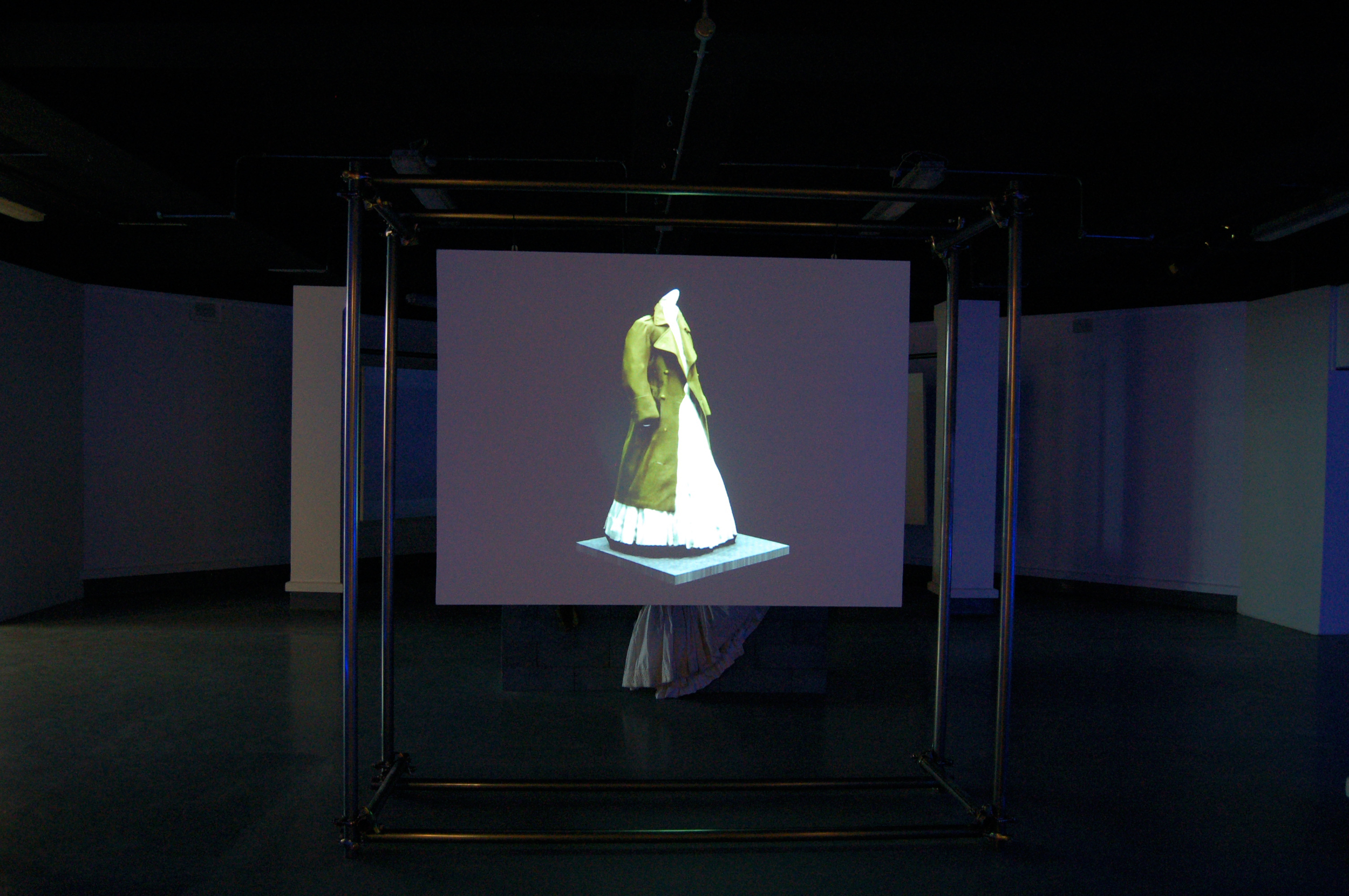 FASHION CURATION '13 - 123D Catch Projection