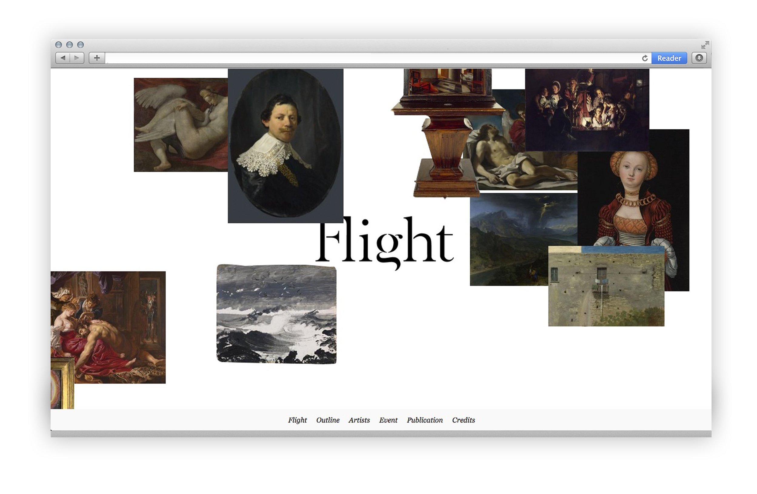 Flight Drawing Interpretations - Homepage