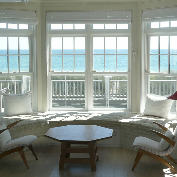 You see a gorgeous oceanview, we see salt and sand maintenance issues.