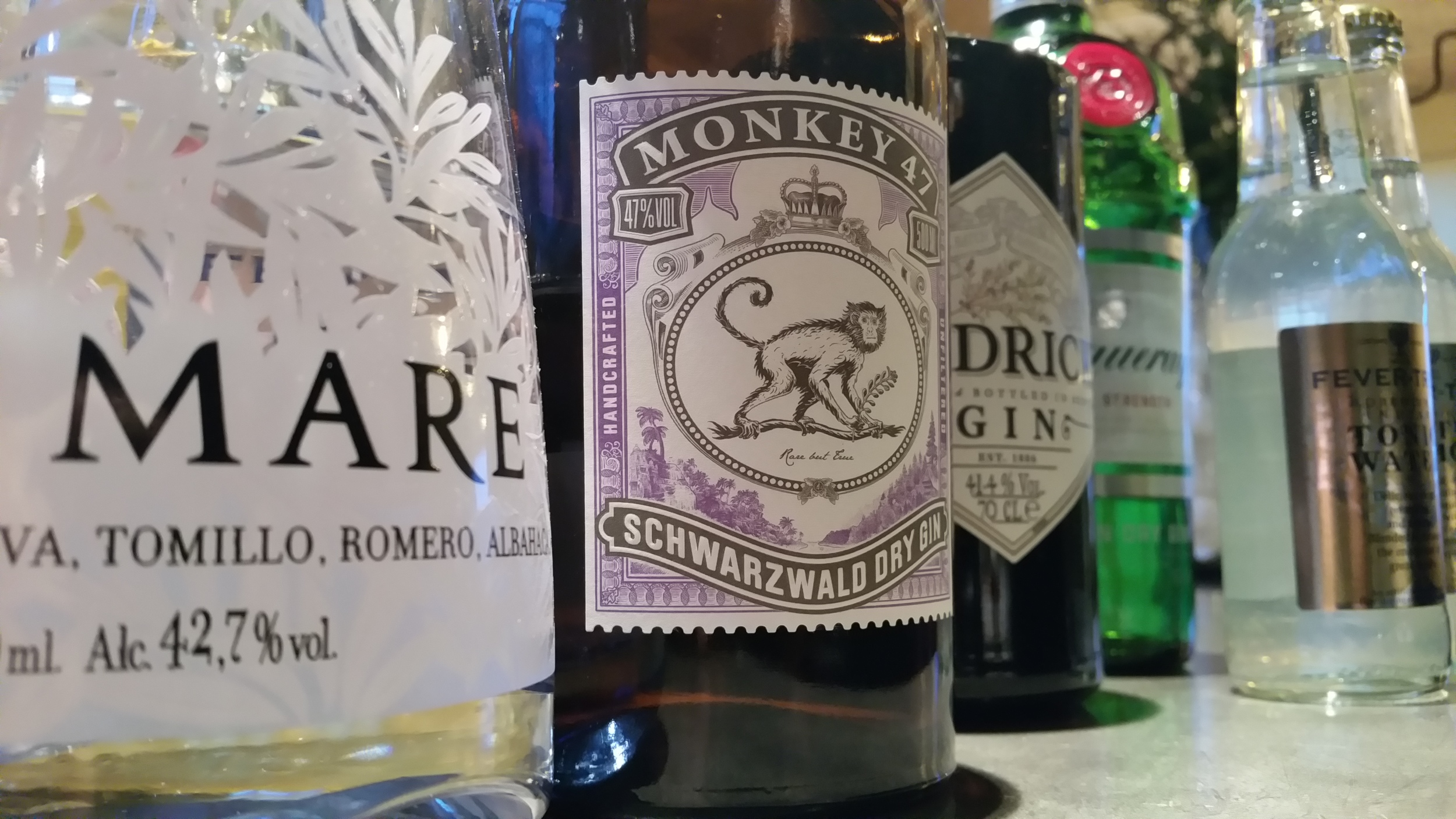 gin tasting bristol wine school 2