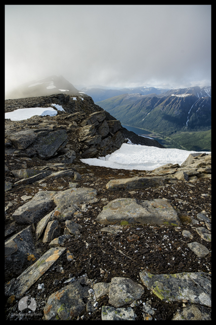 Tverrbotnfjellet, Tromso, Norway by Backpacking North