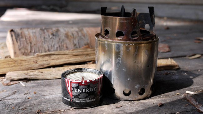 Zelph BushBuddy Companion alcohol stove review at Backpacking North