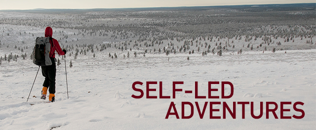 Self-led / self-guided adventures (trips, tours, outfitting) from Backpacking North