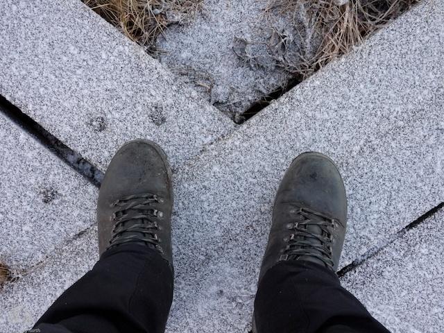 Manly boots. For men. Grrr!