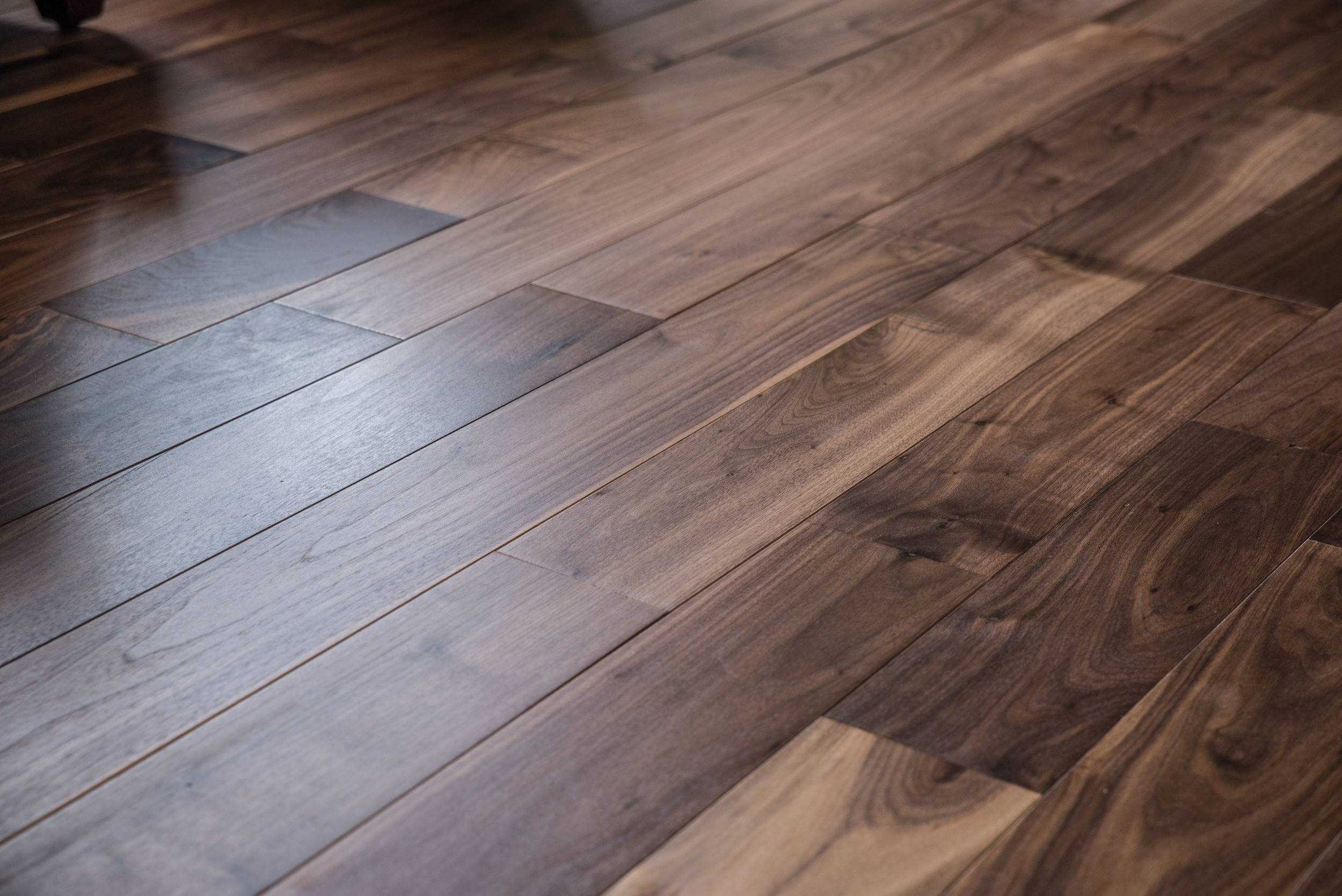 Custom Walnut Flooring by Triton