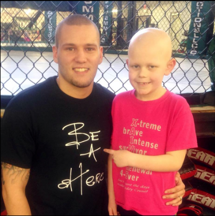 Ty is a fighter of all fighters! 2 Years ago Ty was having head aches only to find out he had a brain tumor. After a long year of treatment he knew he beat cancer. Sadly to sayshortly after his treatment was done they found Cancer in Ty's back. So he will continue to fight like he fought before. Ty loves to get in the ring with MMA Fighter Steven Mann (Cousin) and wrestle around. Ty loves to have fun with his brother and 2 sisters! But what he loves to do the most is get in front of the church and show everyone how much God has done for him!