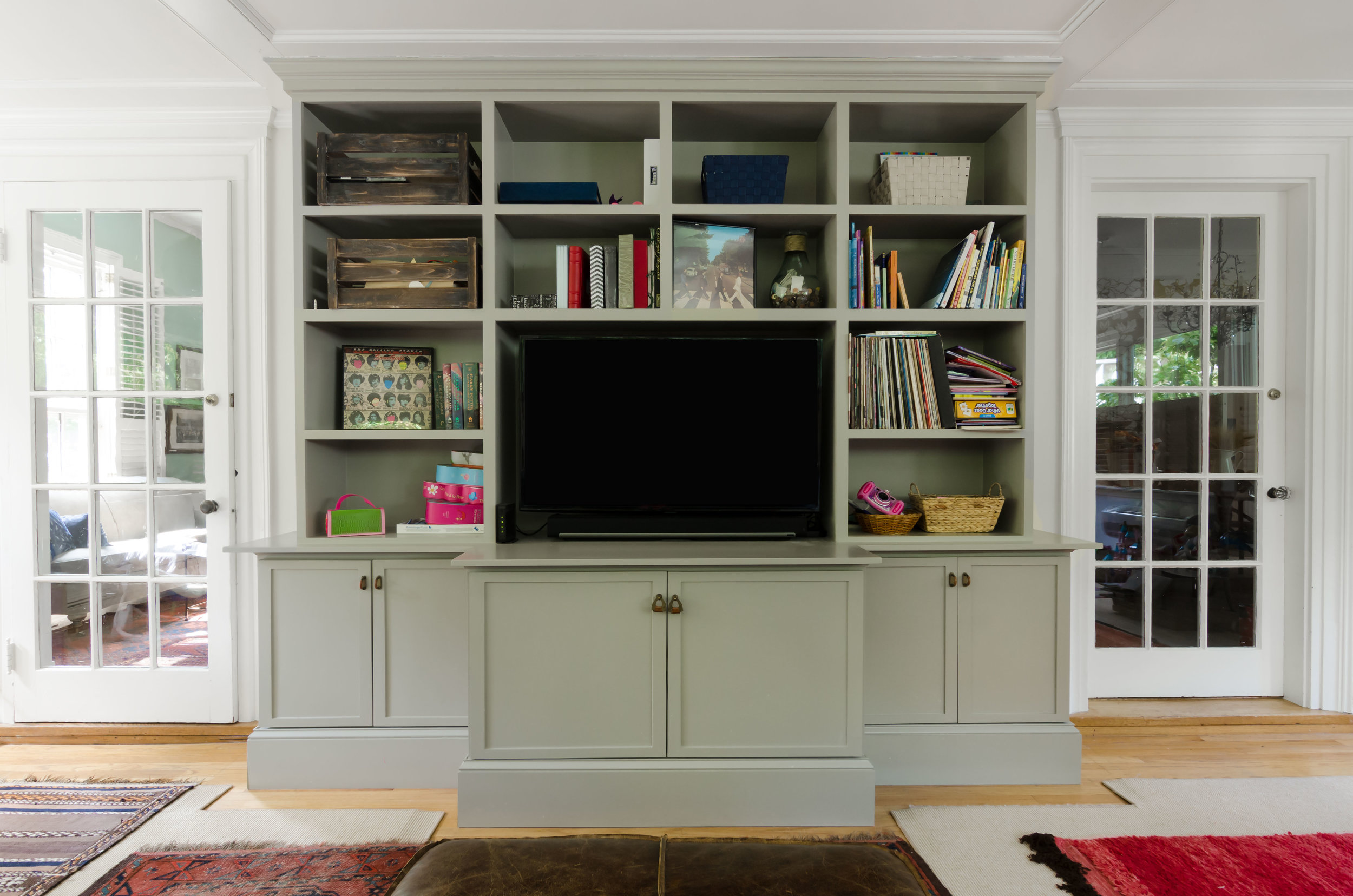 Built-in media center