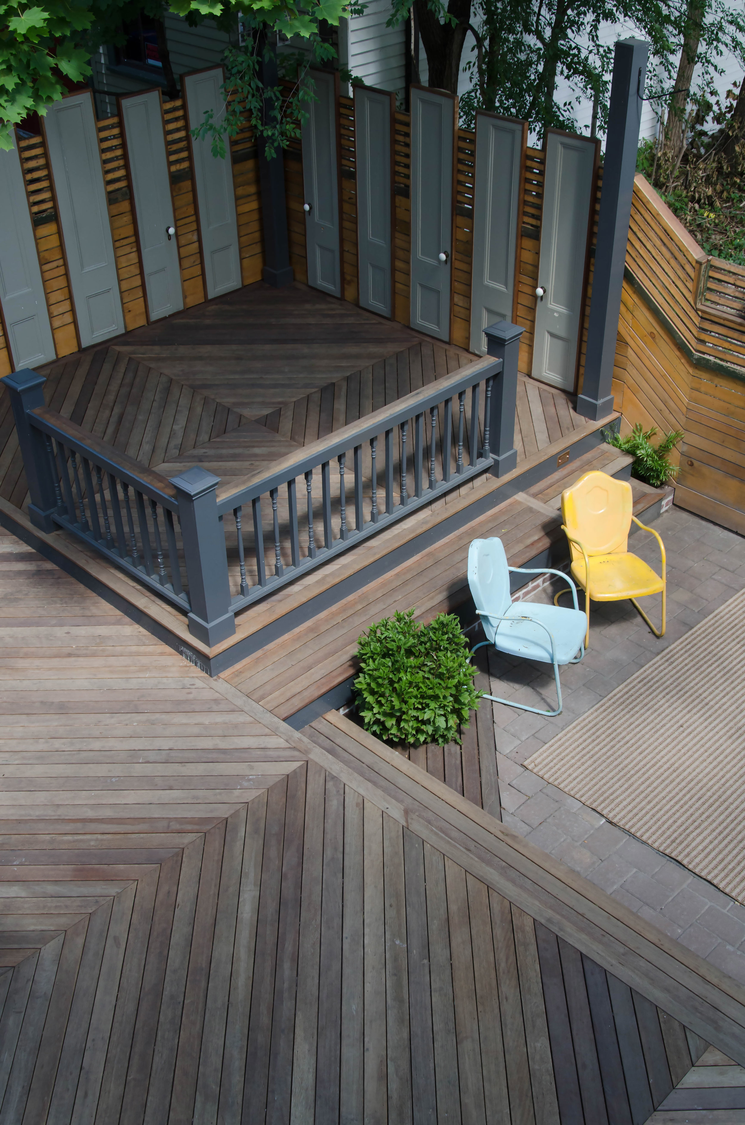 Custom JP back porch