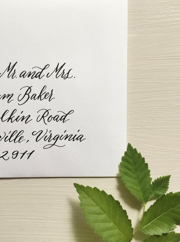 jw 2018, wedding invitation, envelope calligraphy, addressing envelopes, wedding calligraphy, columbia, sc, south carolina, lexington, south carolina 2.JPG