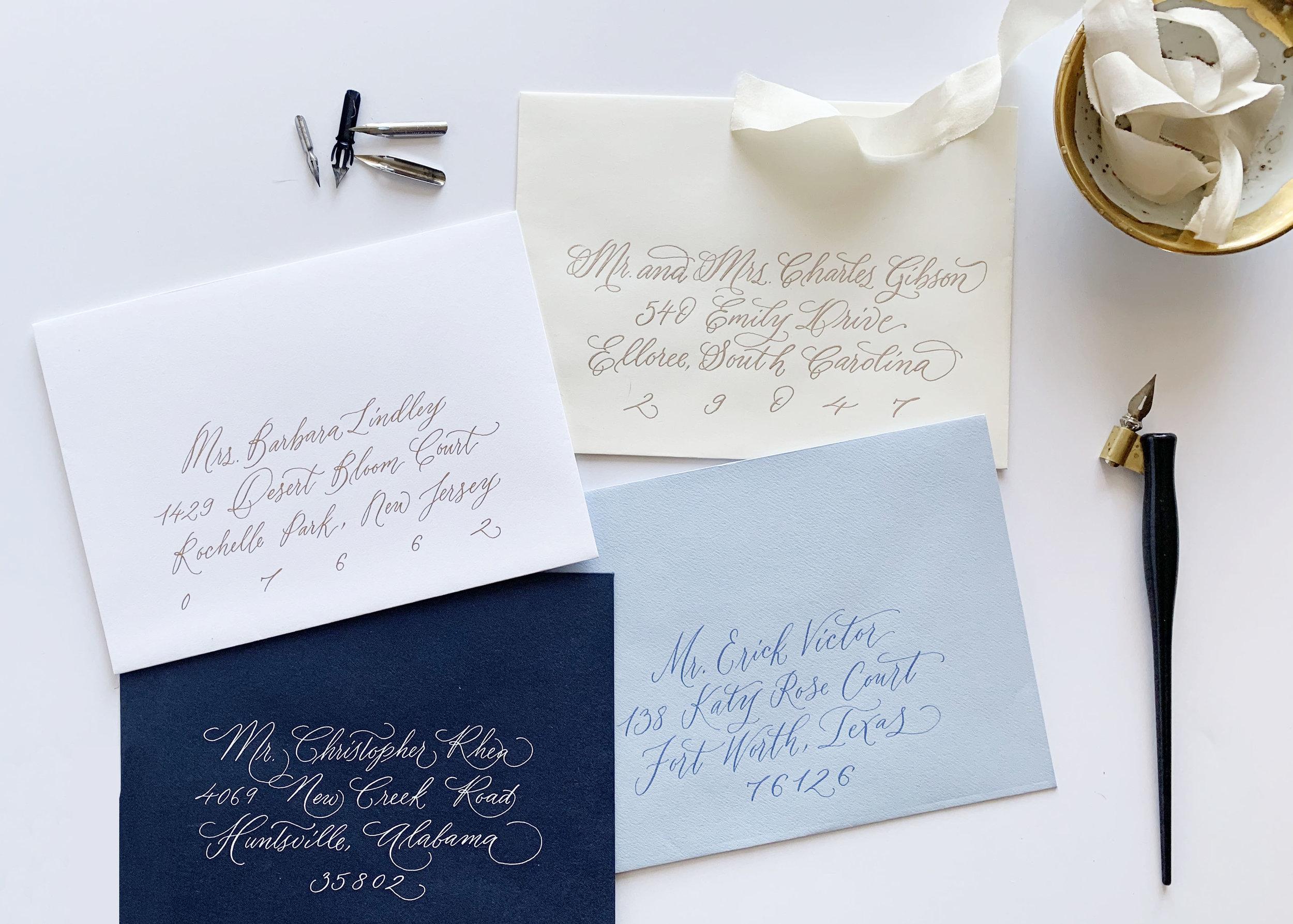 2019 Calligraphy Styles