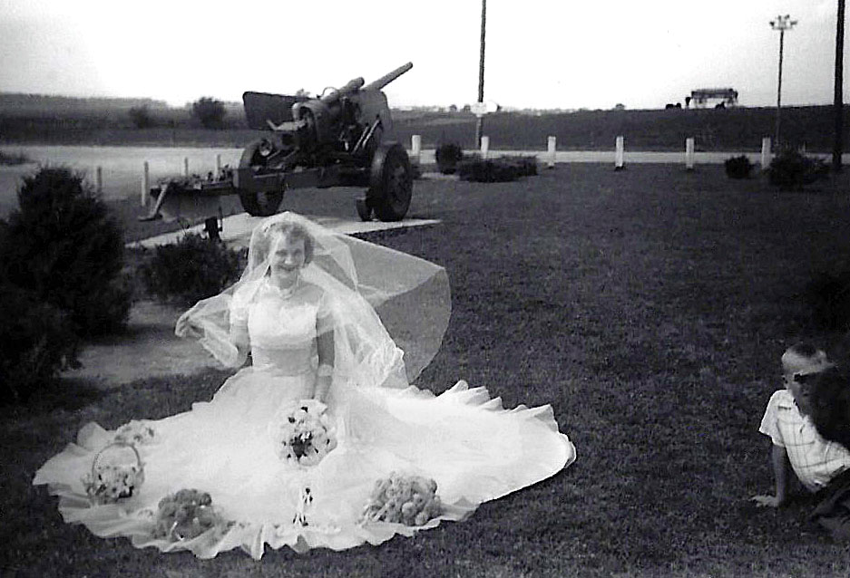 Isn't my grandma the most beautiful bride?!