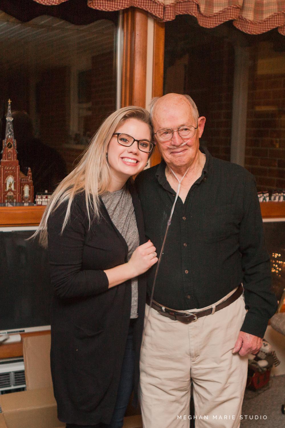 My last photo with Grandpa.