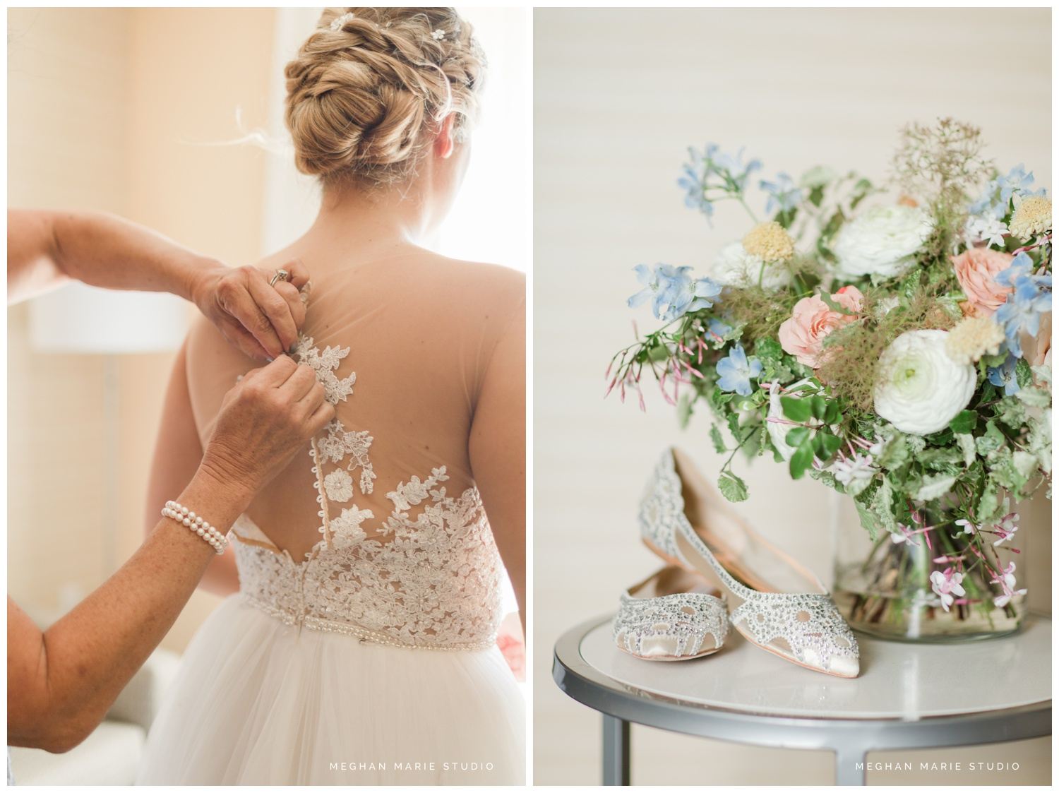 meghan marie studio university of dayton cathedral wedding with romantic earth tone donuts and decor steam plant ohio wedding_0269b.jpg
