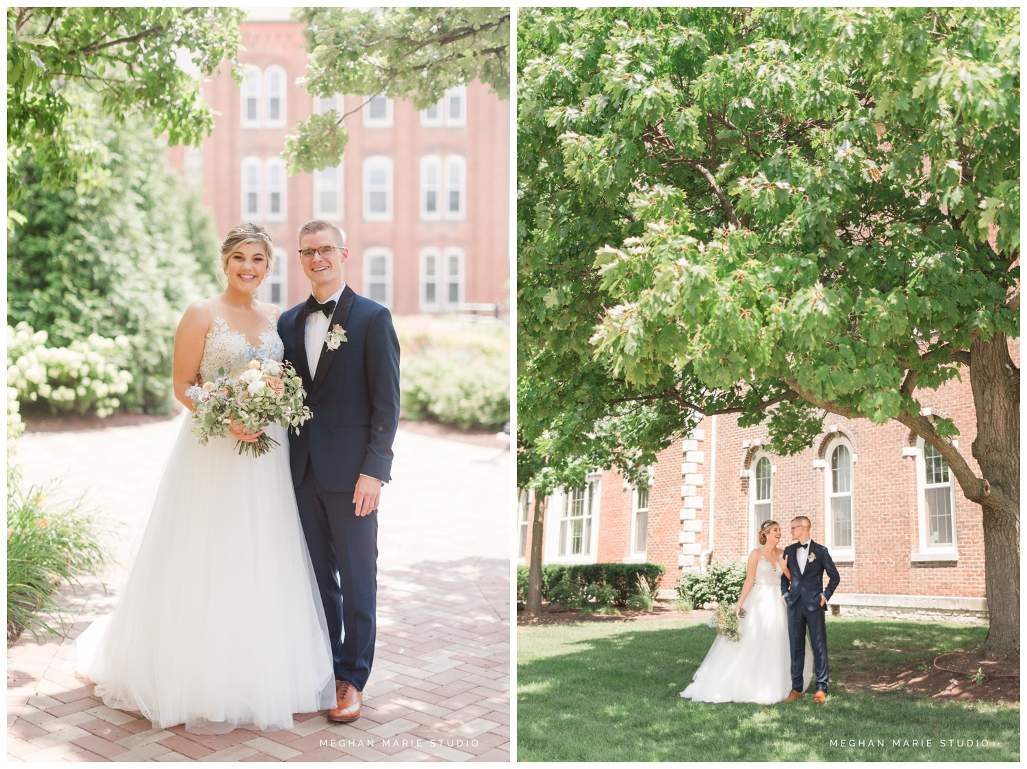 meghan marie studio university of dayton cathedral wedding with romantic earth tone donuts and decor steam plant ohio wedding_0288.jpg