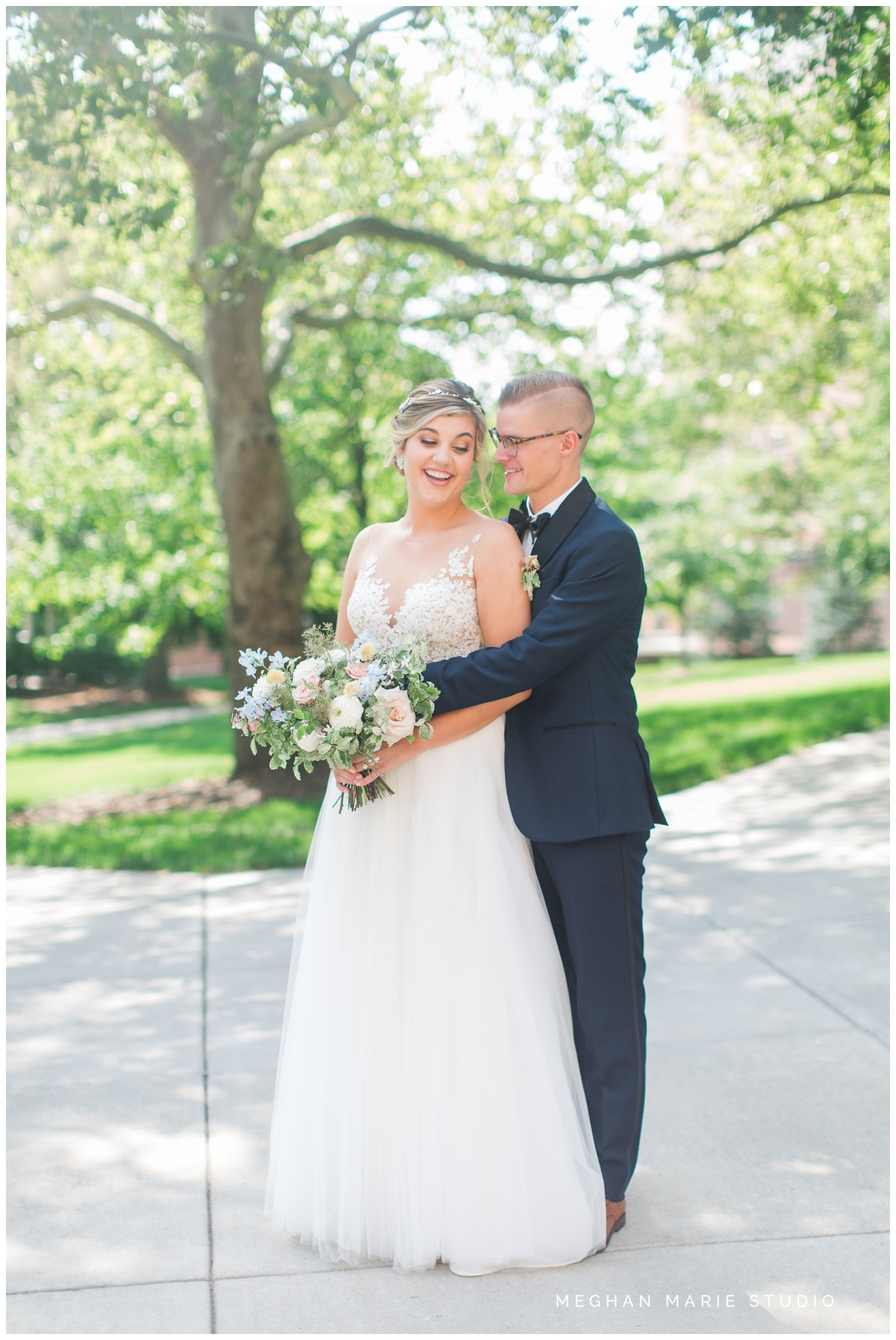 meghan marie studio university of dayton cathedral wedding with romantic earth tone donuts and decor steam plant ohio wedding_0296.jpg