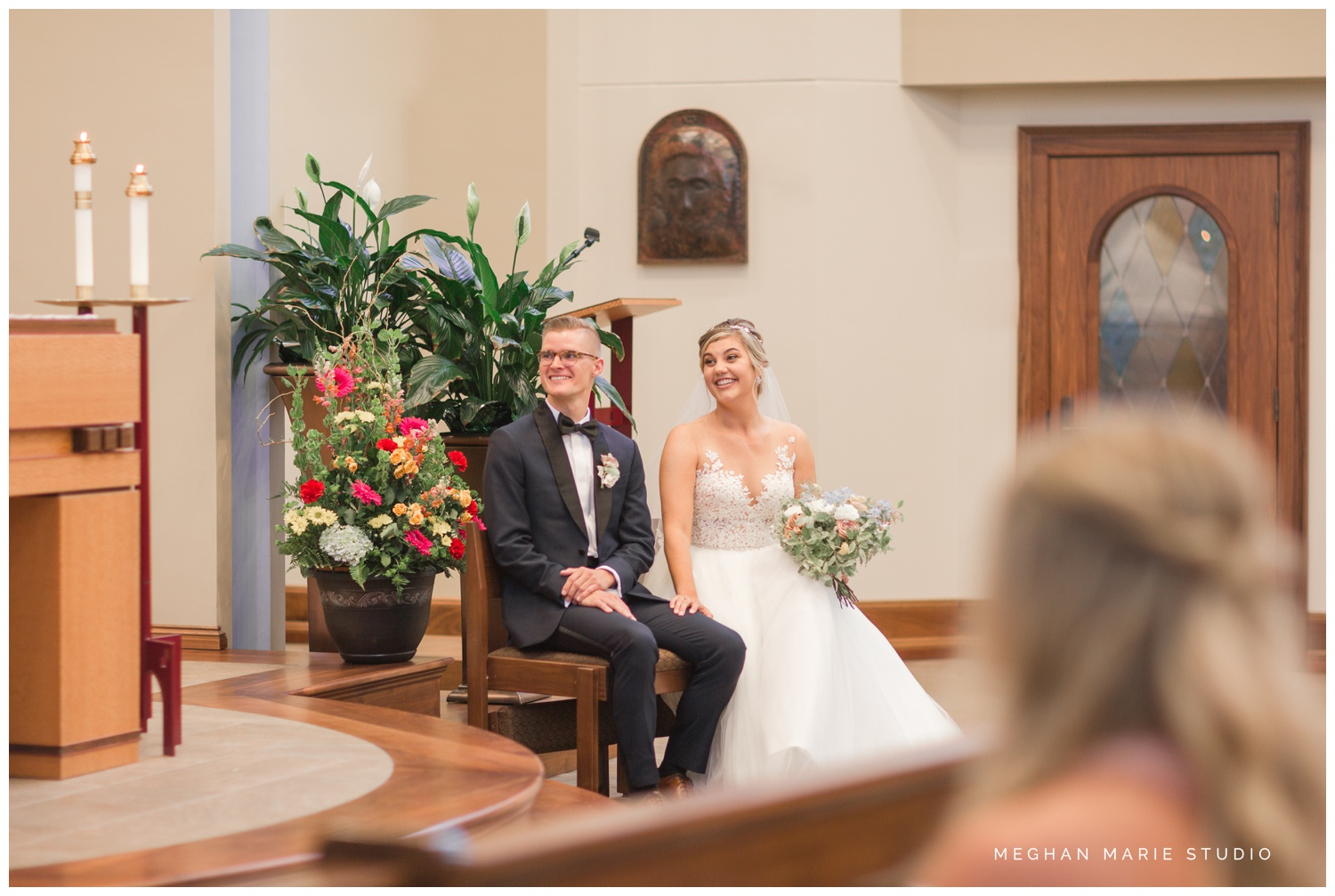 meghan marie studio university of dayton cathedral wedding with romantic earth tone donuts and decor steam plant ohio wedding_0308.jpg