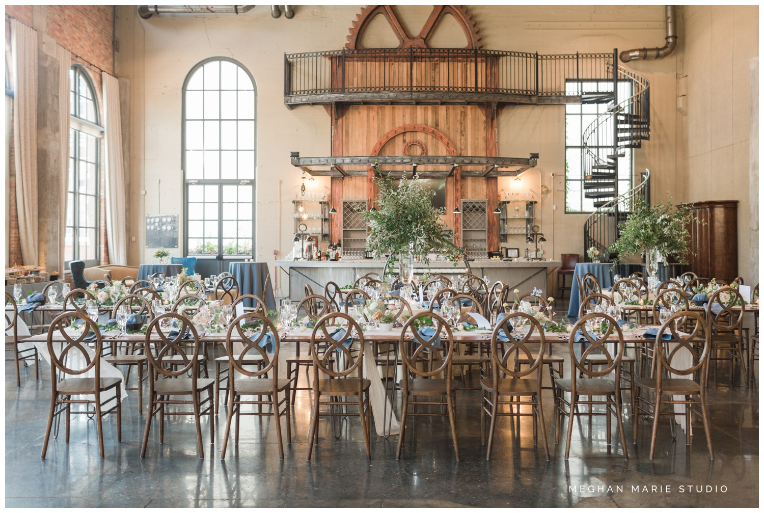 meghan marie studio university of dayton cathedral wedding with romantic earth tone donuts and decor steam plant ohio wedding_0313.jpg