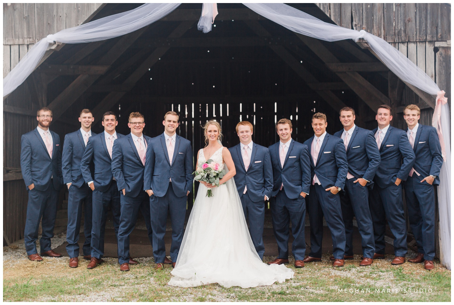 meghan marie studio ohio wedding kyle ahrens msu michigan state basketball spartans navy blush rustic barn soft warm bright bubbles catholic church_0387C.jpg