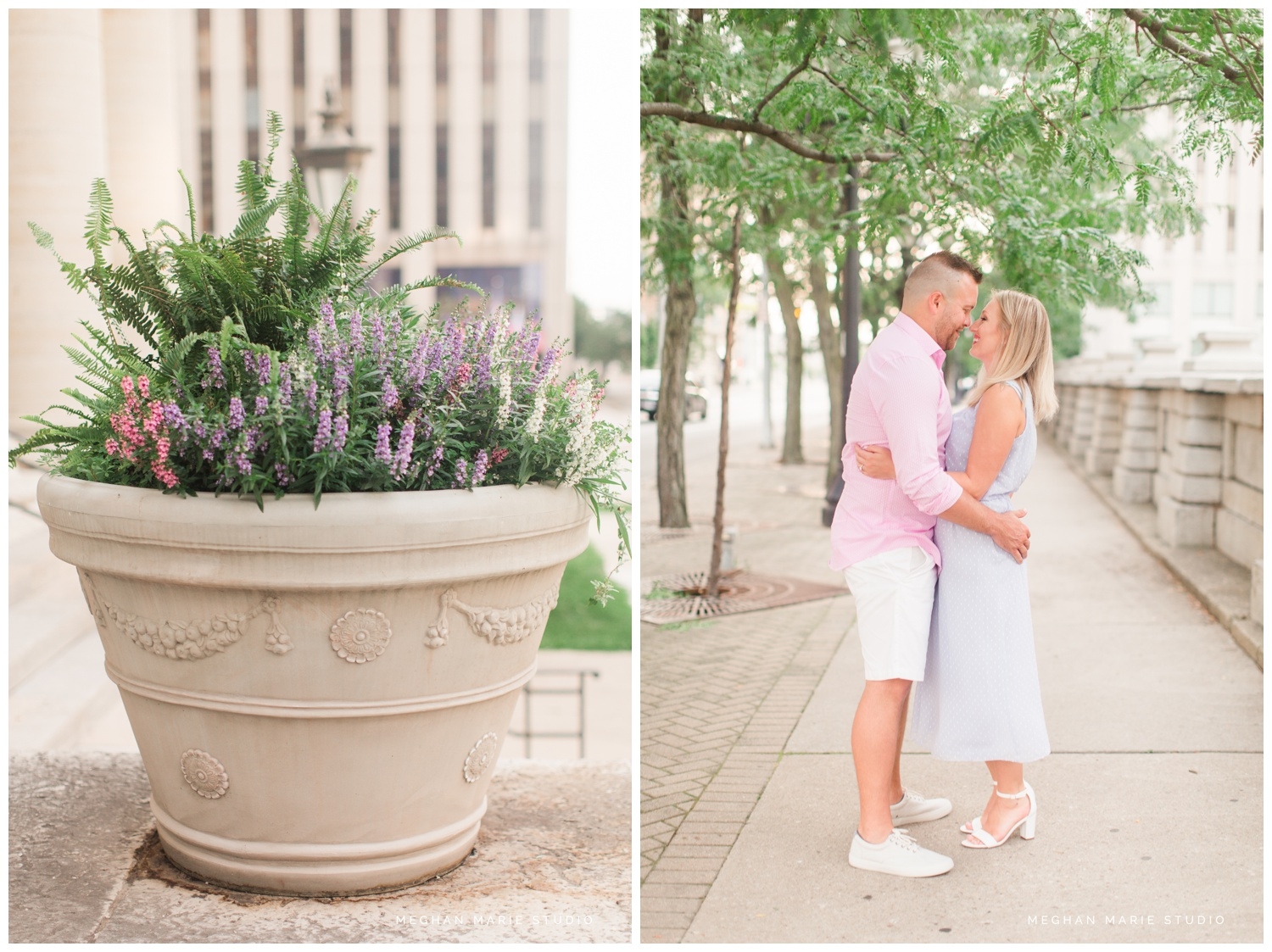 meghan marie studio ohio dayton troy photographer wedding photography engagement alex kaila family honeycreek preserve champagne downtown courthouse urban rural earth toned nature woods barn country city stone fountain elegant_0453.jpg