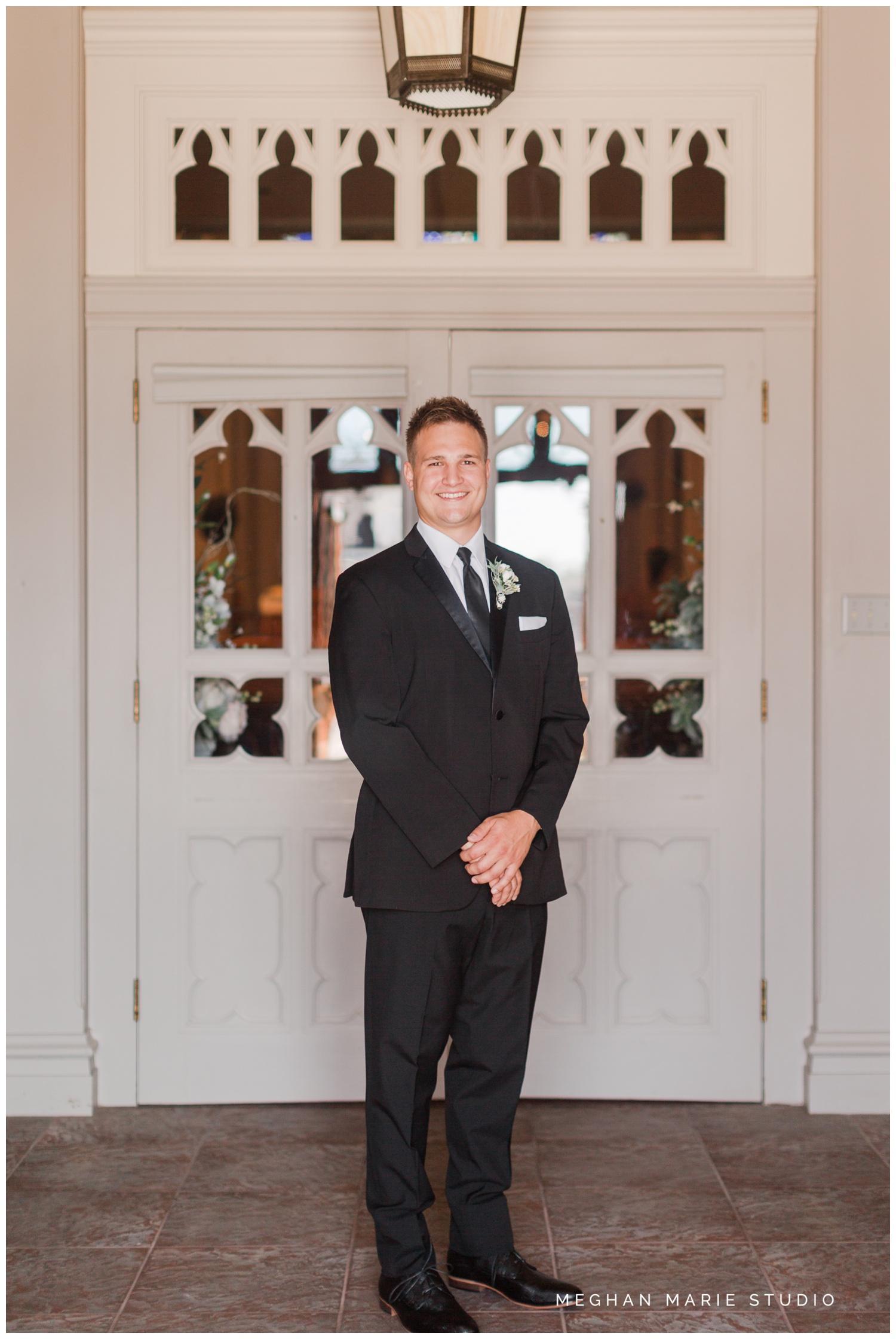meghan marie studio wedding photographer ohio troy dayton columbus fort loramie st michael hall demange ken midmark elegant black suits metallics hollywood soft glam family wedding_0498.jpg