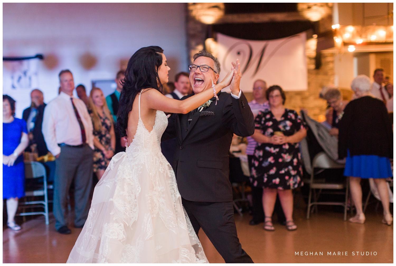 meghan marie studio wedding photographer ohio troy dayton columbus fort loramie st michael hall demange ken midmark elegant black suits metallics hollywood soft glam family wedding_0538.jpg