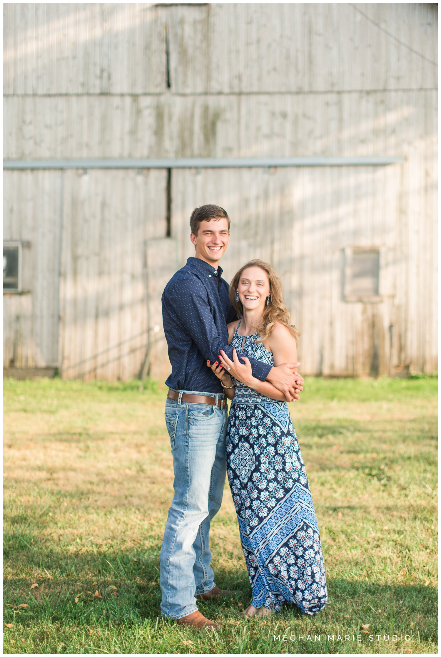 meghan marie studio wedding photographer ohio troy dayton columbus small town rustic rural farm cows russia shelby county barns antique vintage engagement lauren heaton_0558.jpg