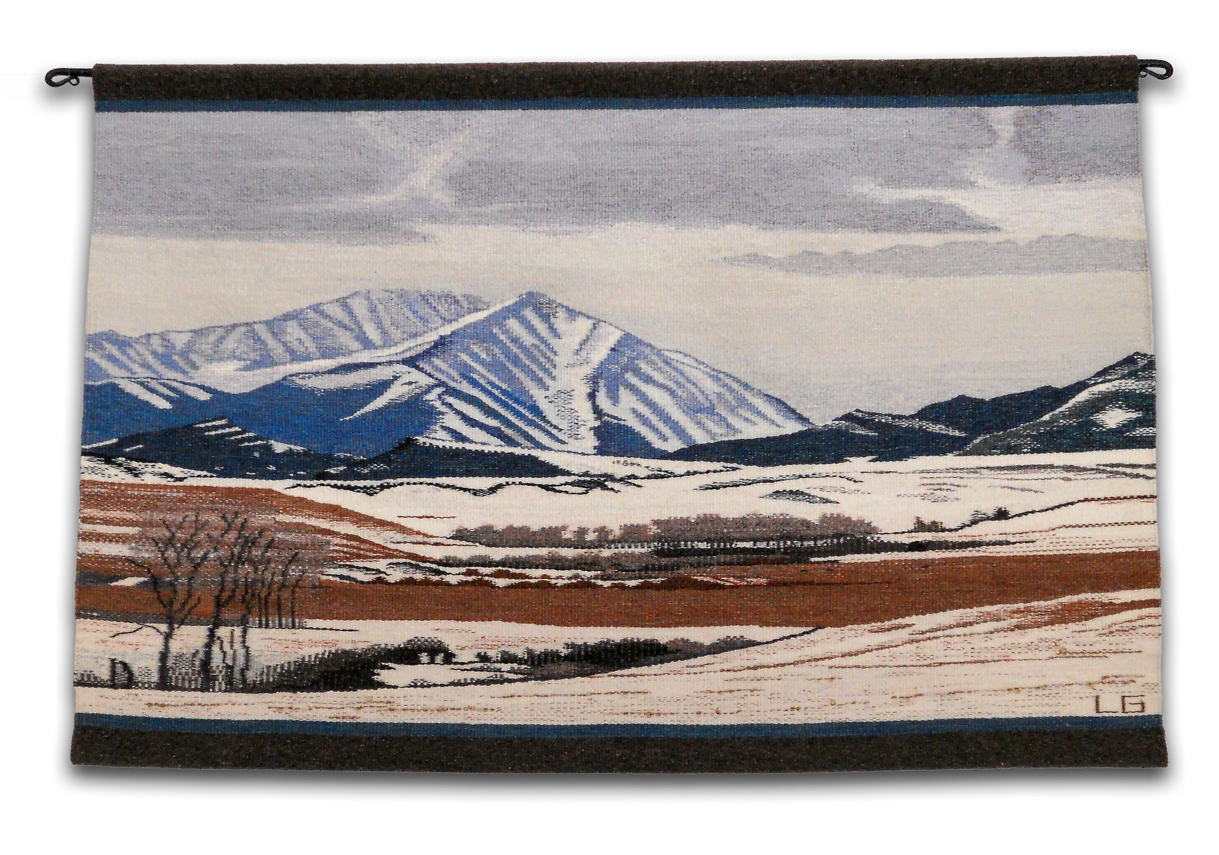 "Otter Creek Winter, 37"" X 25"", $2,800"