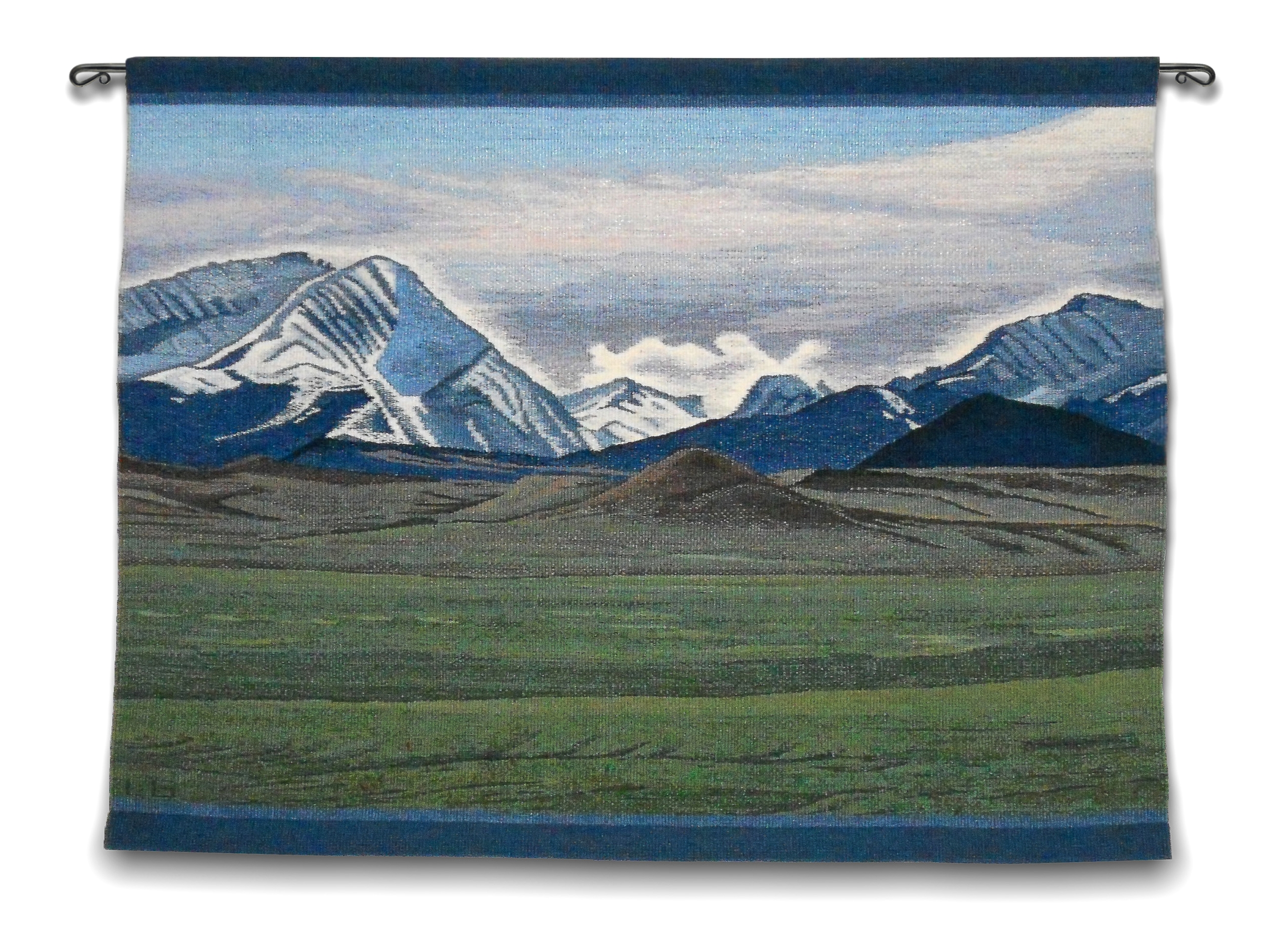 """Otter Creek Ranch, 38"""" X 29.5"""". This was commissioned as an anniversary gift."""