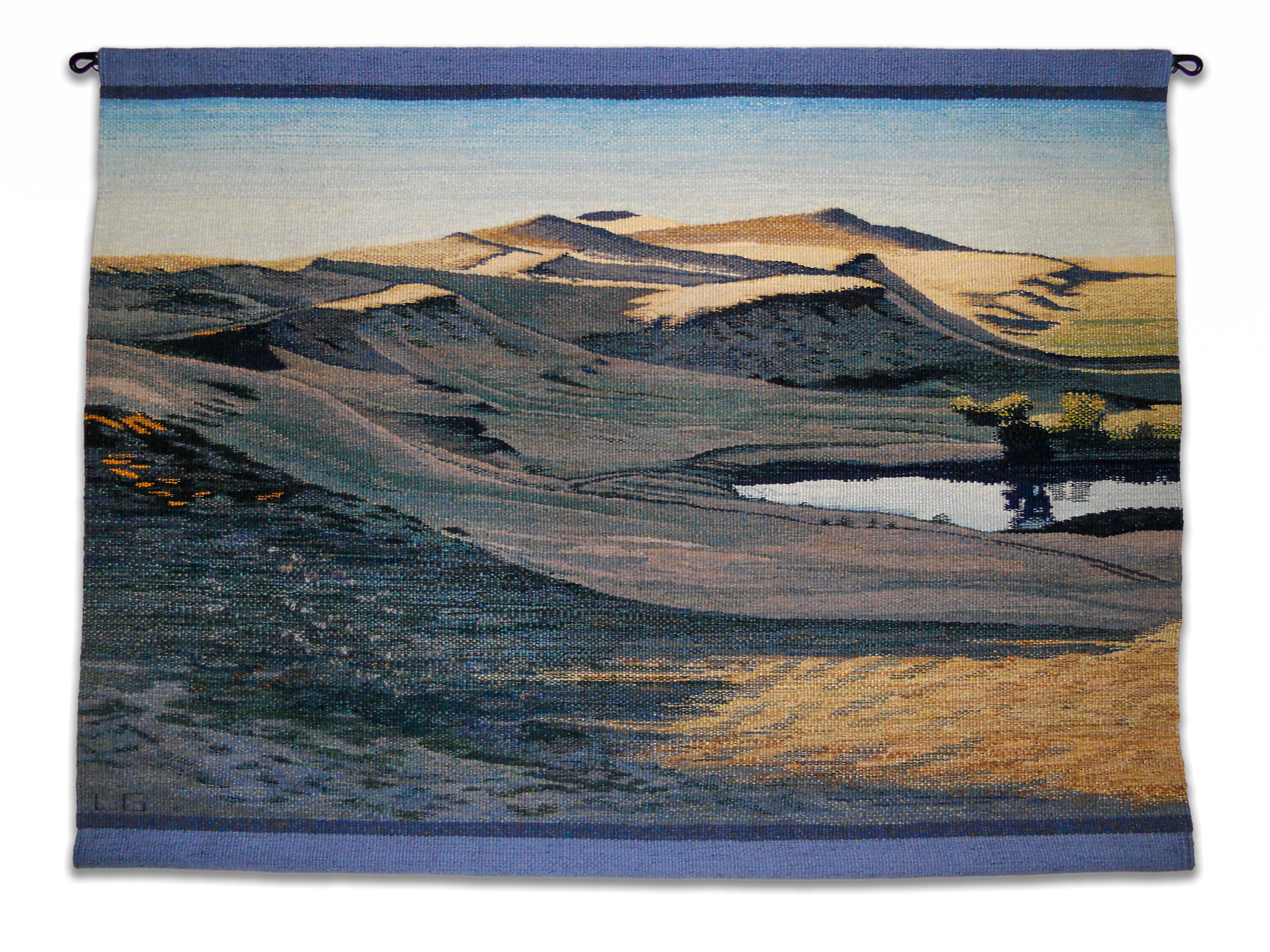 "Cayuse Hills 2015, 38"" W X 28.5"" HSold"