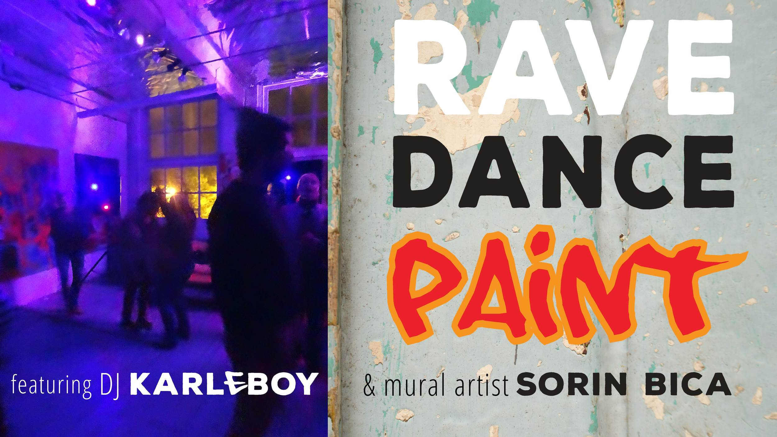 Photos taken at Dj Karleboy party in Sorin Bica's studio Summer 2015.