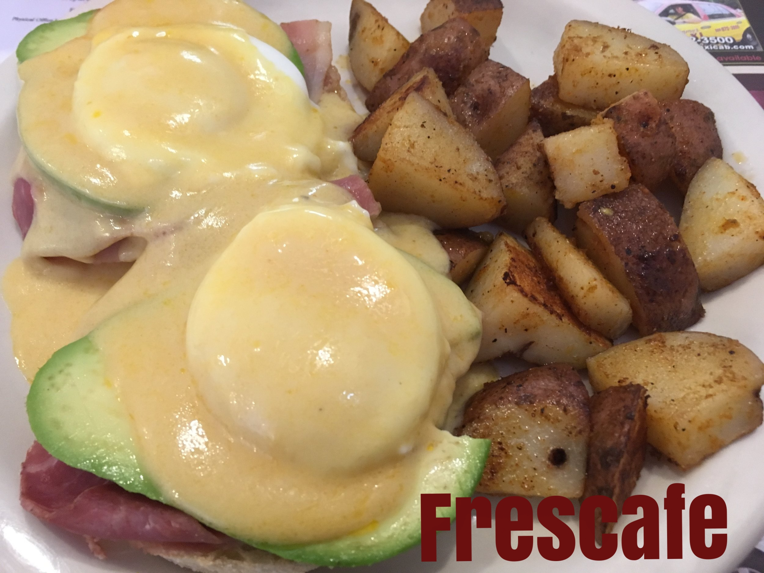 Simple, hearty dining - Frescafe - 82 Concord Street- Chunky Monkey Pancakes- Savory French ToastThe Framingham Beat covers Frescafe