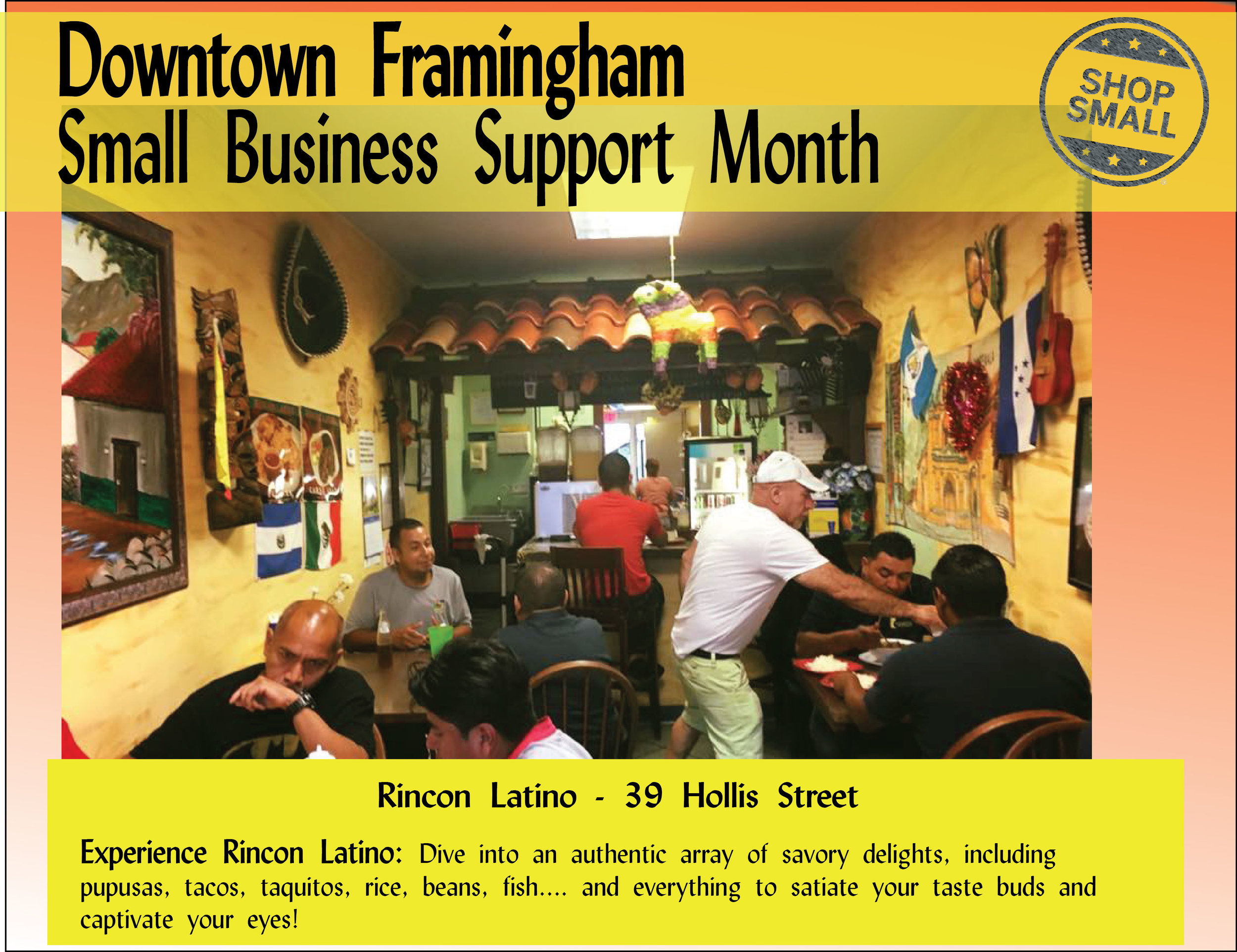"""It's Day 4 of Small Business Support Month! Reason #4 to shop small:  """"Shopping at one local business helps other local businesses. By shopping at a business in the neighborhood, you'll most likely stop by other independent retailers in the vicinity and create a ripple effect on the entire local economy."""""""